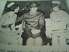 ephemera 1972 kent picture francis davis judith hall miss e haigh canterbury hos