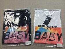 "Saint Laurent Paris YSL SLP SPECIAL PROJECT ""BABY"" SHORT SLEEVE T-SHIRT"