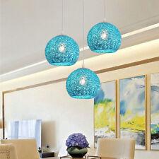 Kitchen Pendant Light Bedroom Ceiling Lamp Blue Aluminum Lighting Hotel Lights