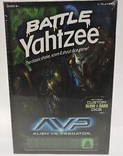 Alien vs. Predator Battle Yahtzee w/ Custom Glow in the Dark Dice