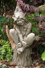 """Gartendeko Figur Skulptur Waldfee """"Foxglove"""" Devonshire©by Fiona Scott Steinguss"""