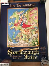 "Pocket Dragons ""And All Shall Be United"" ScarboroughFaireRenaissan ce 22nd Poster"