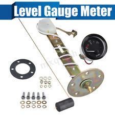 "US 2"" Universal Car Truck Level Gauge Meter With Sensor E-1/2-F Pointer"