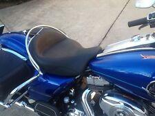 Rail Grab Harley Road King road Sundowner Solo Bucket Set or Mustang Seats 97-12