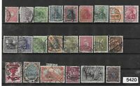 #5420  Small stamp set / GERMANY /  Nice mix before 1930  /  Pre Third Reich era
