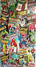 Marvel Comic Con Rotary Boys Beach Bath Cotton Towel Iron Man Captain America