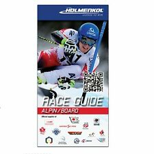 Holmenkol Race Guide Ski & Snowboard Waxing and Tuning Guide - English