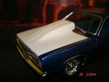 AMT 1/25 71 Plymouth Duster Resin Cast Big Cowl Hood