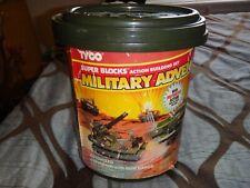 Tyco Super Blocks Military Adventures (Amphibian/Gun Barge) Set Bucket Only