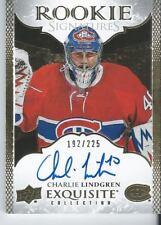 2016-17 Upper Deck Exquisite CHARLIE LINDGREN 192/225 Rookie Signature Autograph