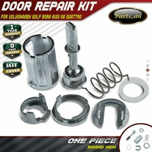 Door Lock Cylinder Barrel Repair Kit for Volkswagen Golf Bora Audi A6 Quattro