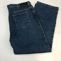 IZOD Jeans Mens 40X30 Blue Classic Fit Straight Leg 100% Cotton Medium Washed