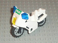 Moto LEGO POLICE Minifig accessories / MOTORCYCLE for sets 7288 7235 7744 7237