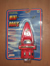 80's Vintage Toy Battery Operated Mini Boats Roxy Turbo Power Moc