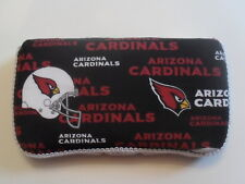Black & Red Arizona Cardinals Baby Wipes Case