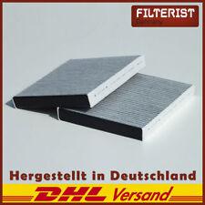 Filteristen Innenraumfilter Aktivkohle (2er Set) BMW 5er F10 F11 F07
