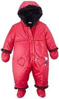 CATIMINI - BABY GIRLS 6m (6-9mth) SNOWSUIT w/DETACHABLE MITTENS & BOOTIES - NWT