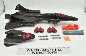 Cobra Night Raven SR-71 Blackbird Jet #3 1986 GI Joe Hasbro Vintage Figure