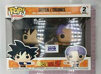 Funko POP Dragonball Z Goten - Trunks Fusion 2 Pack Exclusive Funimation L05