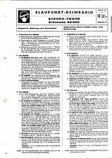Service Manual-Anleitung für Blaupunkt Arkansas 44400