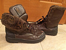 ROCAWEAR ENCORE BROWN WINTER SNOW BOOTS SIZE MENs 7.5 combat boot bx35