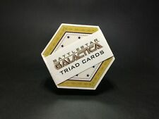 [RARE] Battlestar Galactica Triad Playing Cards in Original Packaging