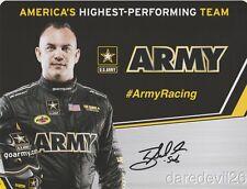2016 Tony Schumacher signed U.S. Army Top Fuel NHRA postcard