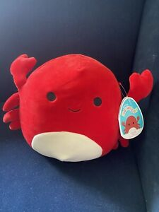 🦀 Carlos the Crab 🦀 5 Inch Squishmallow - Kellytoy - Plush Toy Pillow