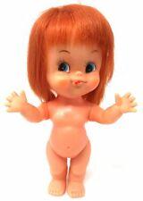 Vintage Google Eye Doll Plastic Girl Toy Made in Japan