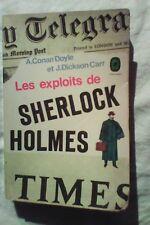 """Les exploits de Sherlock Holmès ""- Conan Doyle et J. Dickson Carr"