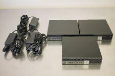 LOT OF 3 DELL OptiPlex 7040 Micro Mini Intel i5-6500T 8GB 1TB SSD Workstations