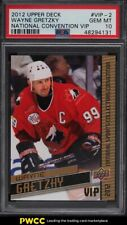 2012 Upper Deck National Convention VIP Wayne Gretzky #VIP-2 PSA 10 GEM MINT