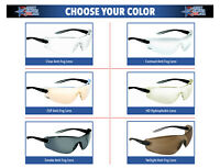 Bolle Cobra Safety Glasses Sunglasses ANSI Z87+ Work Eyewear Choose Color