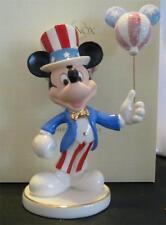 LENOX ~ DISNEY ~ AMERICANA MICKEY ~ DISNEY SHOWCASE ~ NEW IN BOX ~ FREE SHIP USA