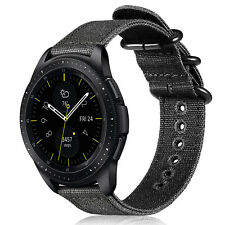 For Samsung Gear S3 / Galaxy Watch 46mm Bands Soft Nylon Replacement Sport Strap