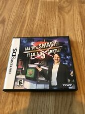 Are You Smarter Than a 5th Grader (Nintendo DS, 2007) Cib Game BT1