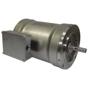 Dayton Bluffton Polyphase 5NUL1 Washdown Motor 3 Ph 3/4 HP 3450 rpm S/S