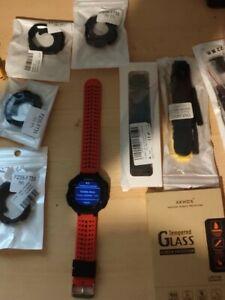 Garmin Forerunner 235 GPS Reloj Deportivo + ACCESORIOS