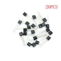 New 20pcs BT131-600 Direct TO-92 600v/1a BT131 Bidirectional Transistor uxMWCA