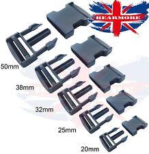 Plastic Buckle Quick Release Buckles Adjustable Webbing 20mm 25mm 32mm 38mm 50mm