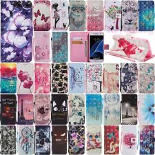 For Samsung Galaxy A8 A8+ 2018 Wallet Card Holder Flip Leather Phone Case Cover