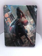 Marvel Spider Man Steelbook Case PS4 (NO GAME)