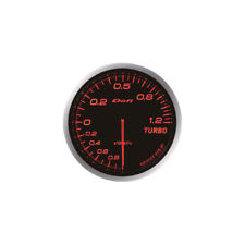 DEFI 60MM ADVANCE BF TURBO 120 BOOST GAUGE RED