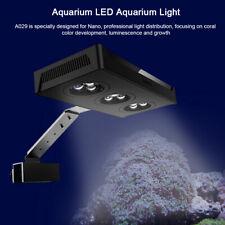 Pro LED Aquarium Light 30W Saltwater Lighting Coral Reef Fish Nano Tank Lamp