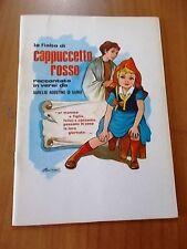 Aurelio A. Di Ganci LA FIABA DI CAPPUCCETTO ROSSO RACCONTATA IN VERSI 1987