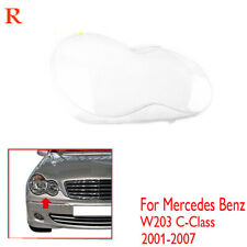 Right Headlight Lens Shell Cover Replace for Mercedes Benz W203 C-Class 01-2007