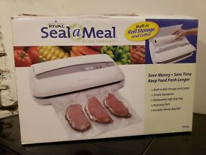 Rival Seal-a-Meal VS 220 Vacuum Food Sealer Tested Works New Open Box
