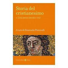 9788843075072 Storia del cristianesimo: 1 - di E. Prinzivalli (a cura di)