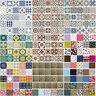 Self Adhesive Tile Stickers Wall DIY Kitchen Bathroom Floor Decor Decal Gift Lot