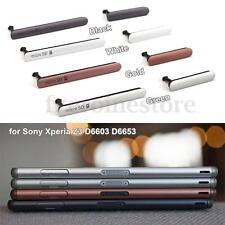 Cubierta del puerto carga USB Tapa antipolvo para Sony Xperia Z3 D6603 D6653 SD